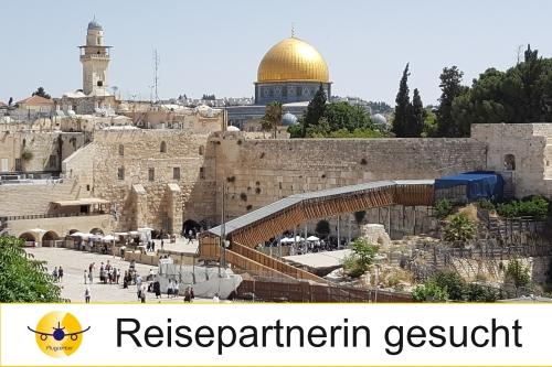 Reisepartnerin für Israel gesucht
